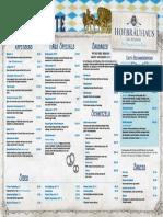 HofbrauhausMenu 9Nov2016 Speisekarte