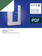 KACO Manual 25000xi-33000xi Eng