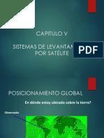 Clase Capítulo v - Sistemas de Levantamiento Por Satélite