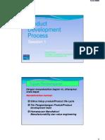 Materi QFD Product Development Process 1