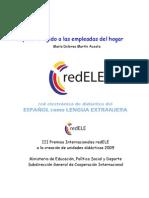 Español dirigido a las empleadas del hogar Unidad didáctica.