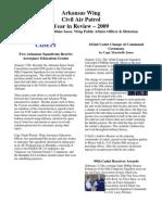 Arkansas Wing - Annual Report (2009)