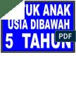 DIBAWAH 5 TAHUN