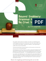 Beyond Snobbery_Grammar Need not be Cruel to be Cool.pdf