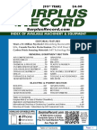 August 2017 Surplus Record Machinery & Equipment Directory