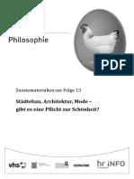 Hr Funkkolleg Philosophie 13