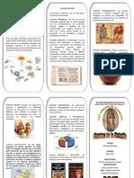 Triptico de Fuentes de La Historia