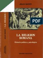 La Religión Romana - Bayet