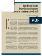 Investig Basica y Desarrollo de Medicamentos