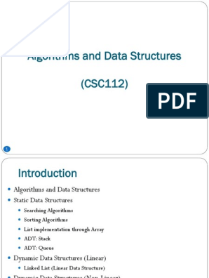 1 L1 - Introduction to Data Structure and Algorithms | Queue