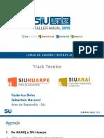 Técnicos- Portal SIU-Huarpe y Plataforma SIU-Arai