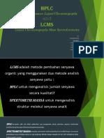 HPLC-LCMS