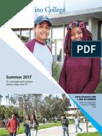 ECC Summer 2017 Schedule