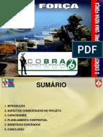 Apresentação Do Projeto COBRA (Combatente Brasileiro)
