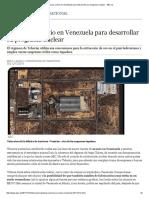 Irán Busca Uranio en Venezuela