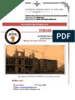 Rapport de Stage Bureau d'Études ARC en CIEL à Sidi Lakhdar