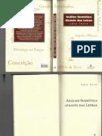Tatit Luiz_Análise Semiótica Através Das Letras