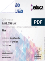 Certificado Veduca