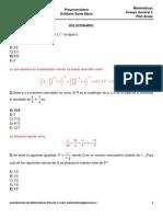 Ensayo General 2 Matemáticas
