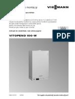 Manual Viessmann Vitopend 100 WH1D