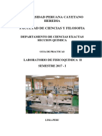 Guia de Practica de Laboratorio FQ II - 2017 - I