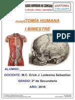 Material PCSC - Anatomía 2 Sec Primer Bimestre