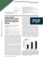 Acute Cortisone