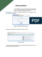 Manual INTRAWAY - Gestión de Clientes