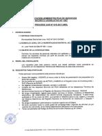 Proceso Cas 015 2017 Convocatoria
