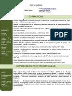 Curriculum Vitae Ely9
