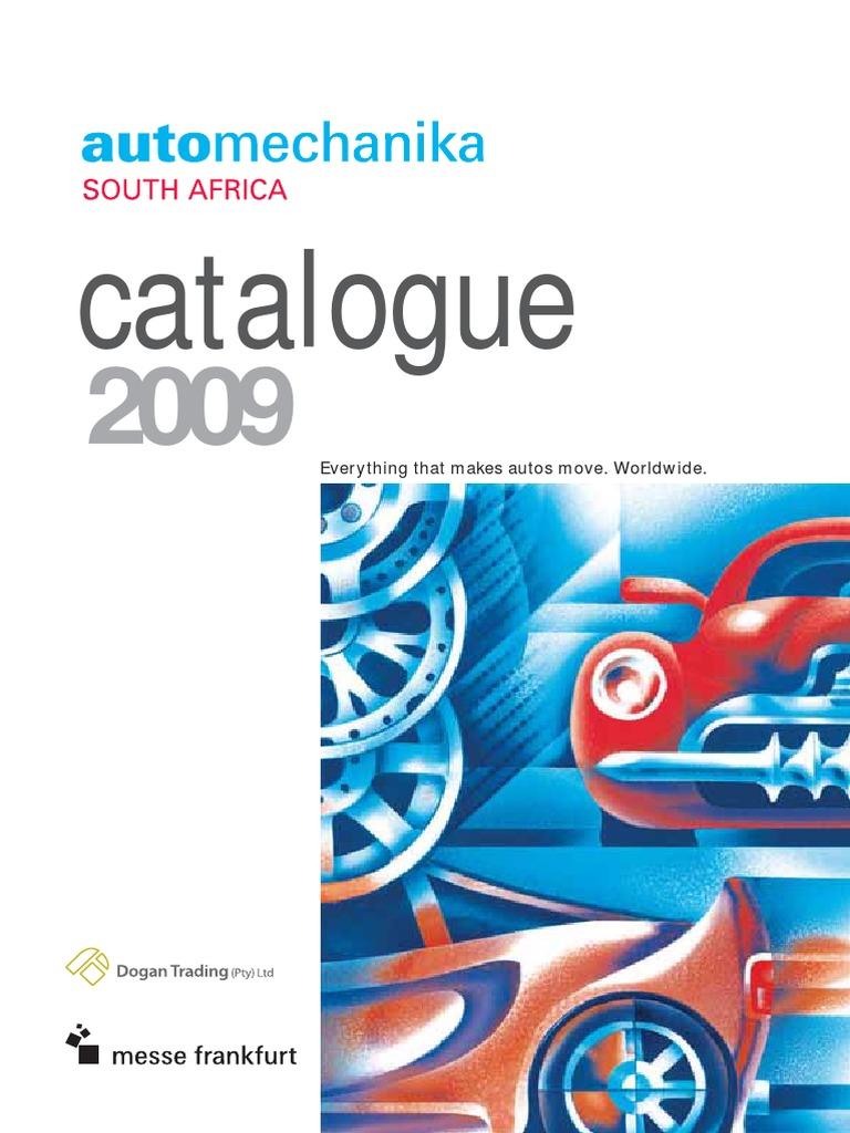 Automechanika 2009 Catalogue   Exports   Automotive Industry
