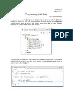 Programming With Karel