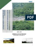 Boletin Estadistico 16 Del Sector de Electricidad 2014