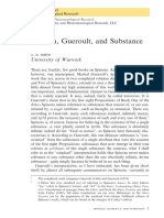 D. SMITH -- Spinoza, Gueroult, And Substance