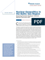 Nuclear Geopolitics in the Baltic Sea Region