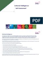 Emotional Intelligence Self-Assessment