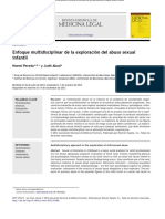 2enfoque Multidiciplinar de La Exploracion Del Abuso Sexual Infantil