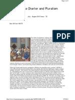 Medina Charter Pluralism