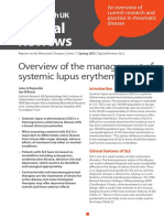 Overview of the management of systemic lupus erythematous