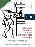 Reyes Fermin_La Imprenta Incunable_el Nuevo Arte Maravilloso de Escribir