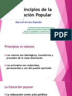 Educación Popular. Marcel Arvea