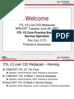 Pultorak Presentation ITIL v3 Service Operation 220607