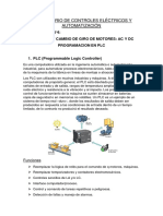 LABO 4 - PLC - Camvio de Giro de Motor
