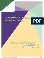 Ciencia, Tecnología y Ambiente 1. Cuaderno de reforzamiento pedagógico - JEC.pdf
