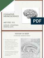cognitive neuroscience history presentation