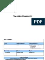 Teaching Organiser a Bundle of Joy