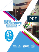 Cronograma Centro de Documentación 2017_Act 31 julio