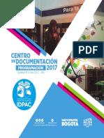 Cronograma Centro de Documentación 2017_Act 31 julio