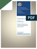Diseño de Filtro Pasabandas