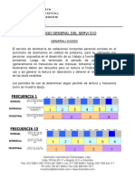 Catalogo General Del Servicio